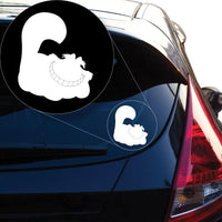 Alice In Wonderland Cheshire Cat Decal Sticker for Car Window, Laptop and More # 970