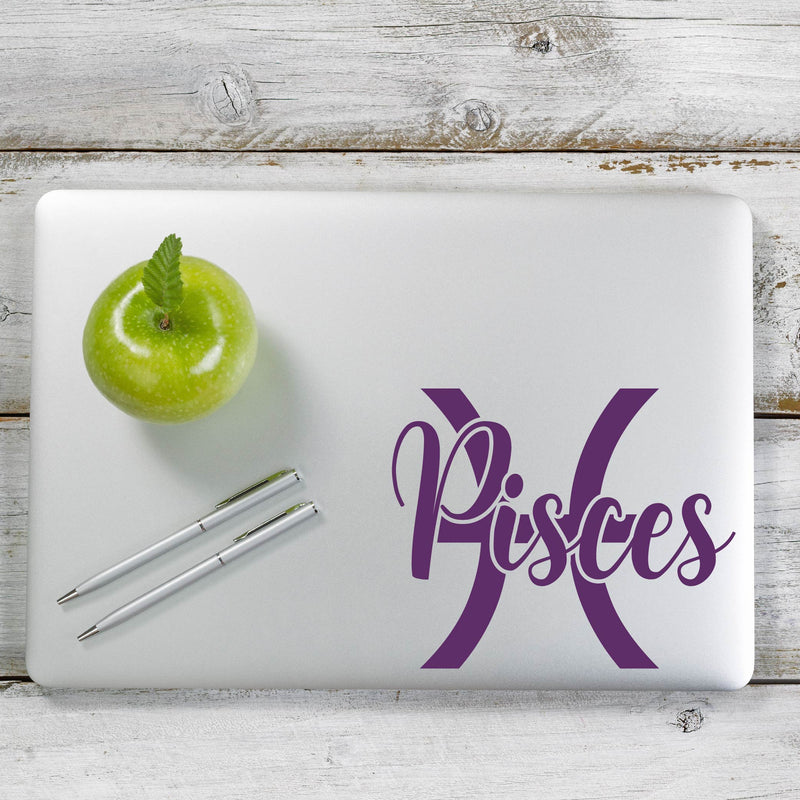 Pisces Decal Sticker for Car Window, Laptop and More. # 1177