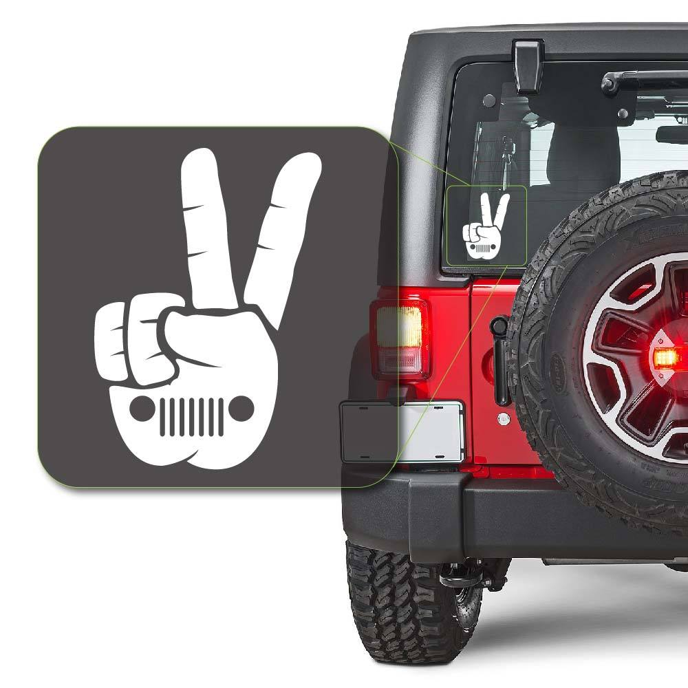 Jeep Wave Decal Sticker for Car Window, Laptop and More # 988