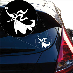 Nightmare Before Christmas Zero Decal Sticker for Car Window, Laptop and More. # 1052