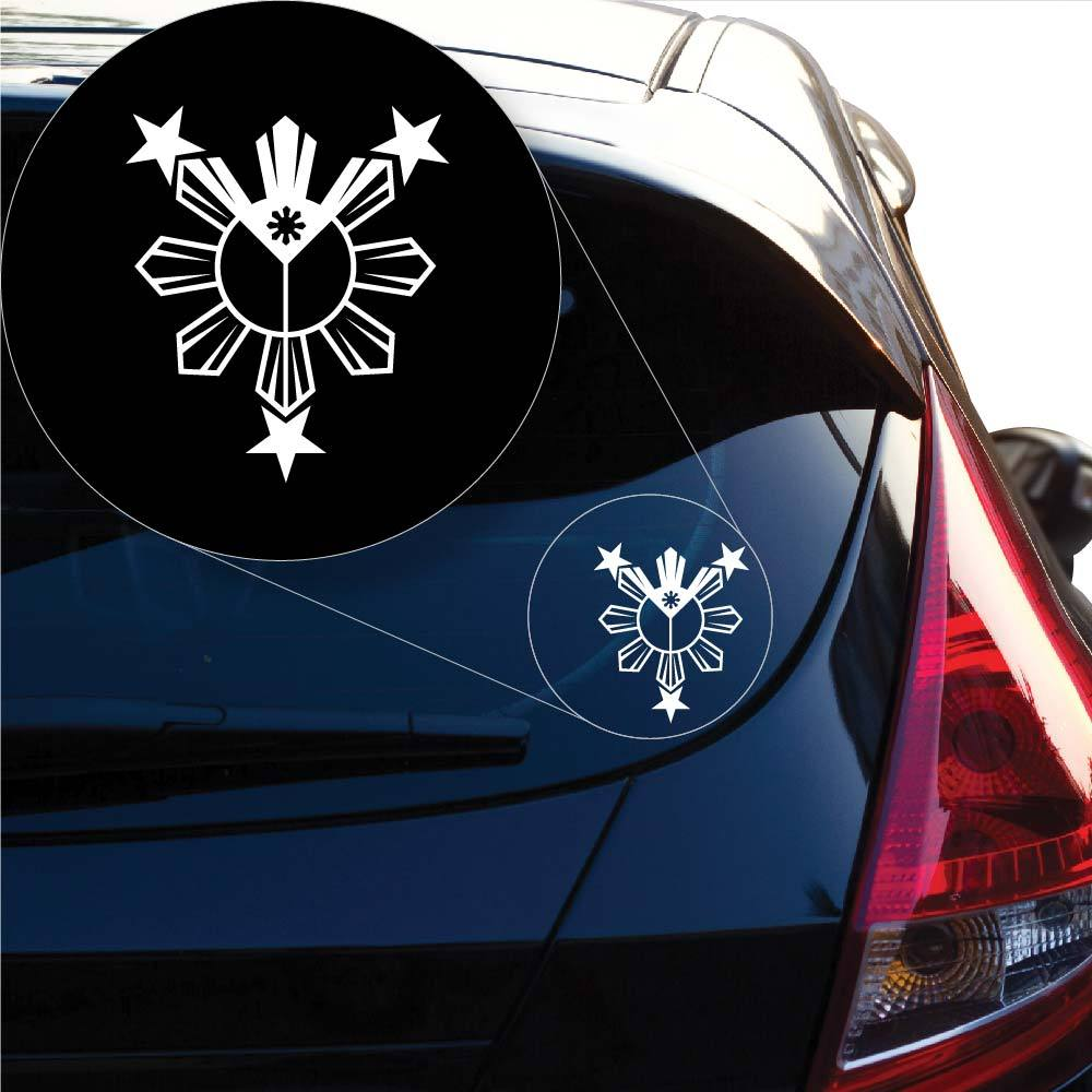 Philippine Filipino Pinoy Pinay Decal Sticker for Car Window, Laptop and More # 1008
