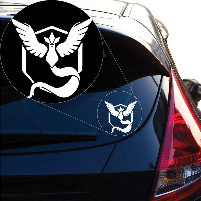 Team Mystic Pokemon inspired Decal Sticker for Car Window, Laptop and More. # 1058
