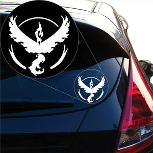 Team Valor Pokemon inspired Decal Sticker for Car Window, Laptop and More. # 1059