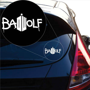 Doctor Who Bad Wolf Vinyl Decal Sticker # 903
