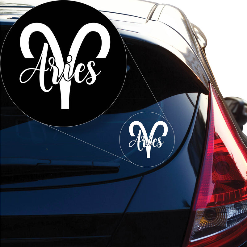 Aries Decal Sticker for Car Window, Laptop and More. # 1161