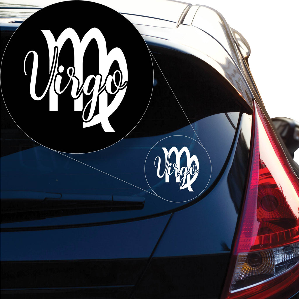 Virgo Decal Sticker for Car Window, Laptop and More. # 1171