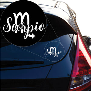 Scorpio Decal Sticker for Car Window, Laptop and More. # 1173