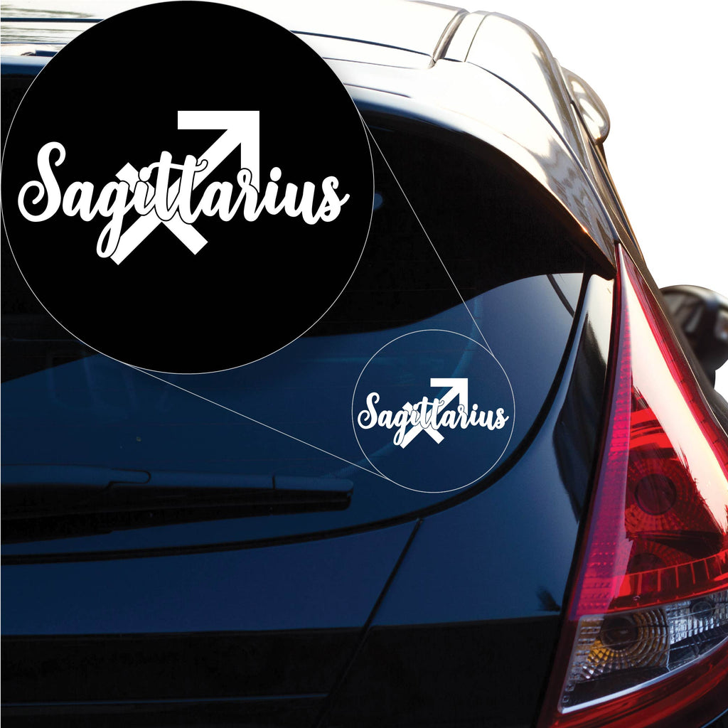 Sagittarius Decal Sticker for Car Window, Laptop and More. # 1174