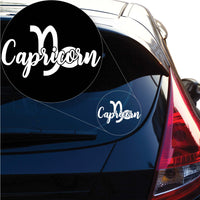 Capricorn Decal Sticker for Car Window, Laptop and More. # 1175