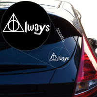 Harry Potter inspired Always Deathly Hallows #446
