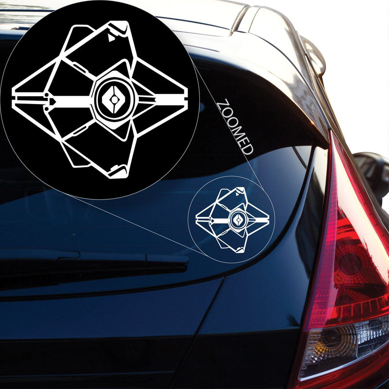 Ghost Decal Sticker #837