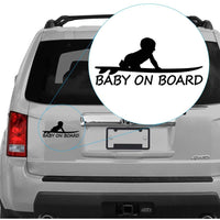 Baby Boy on Board on Surfboard #304