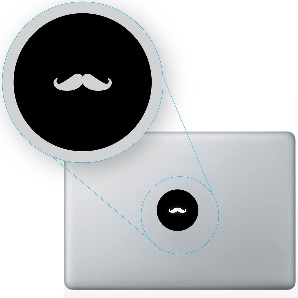 Mustache Macbook #644