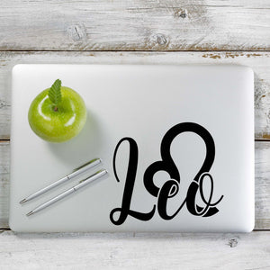 Leo Decal Sticker for Car Window, Laptop and More. # 1170