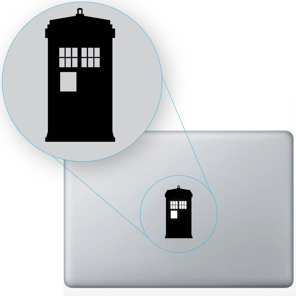 Tardis Doctor Who Macbook #648
