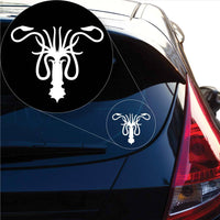 House Greyjoy Game of Thrones Decal Sticker for Car Window, Laptop and More. # 1028