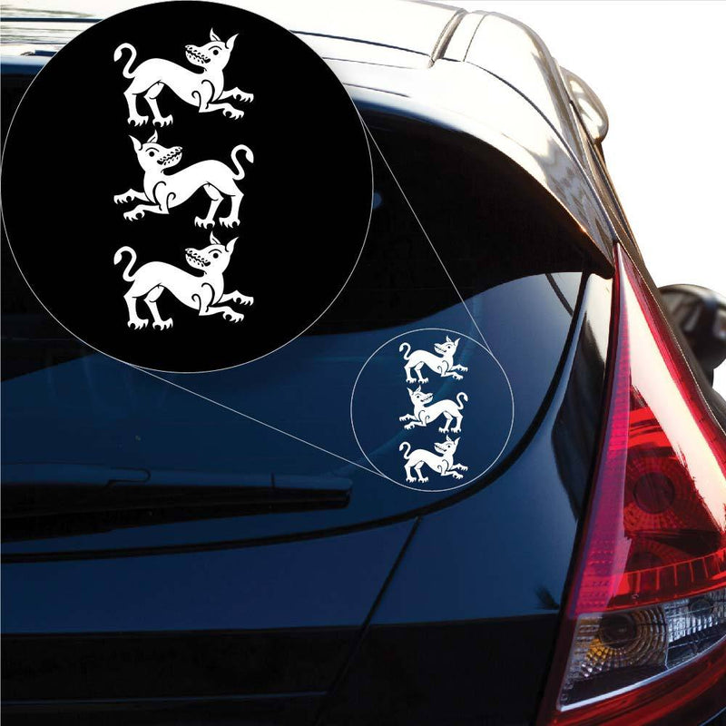 House Clegane Game of Throne Decal Sticker for Car Window, Laptop and More. # 1016