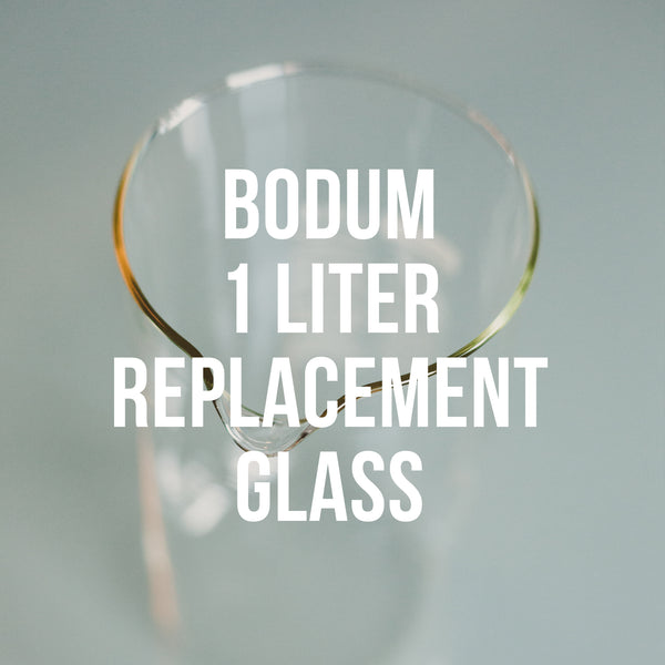 Bodum 1L Replacement <br>Glass<br>8 Cup French Press - Irving Farm Coffee Roasters