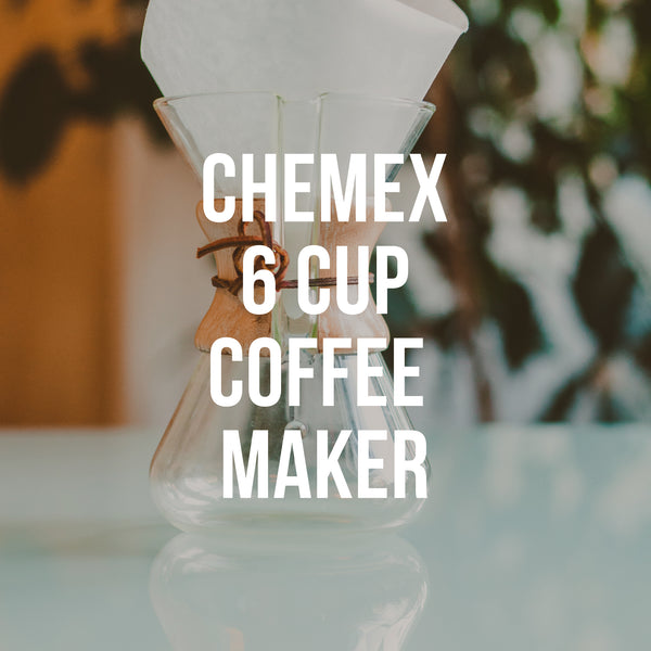 Chemex 6-Cup Coffeemaker - Irving Farm Coffee Roasters