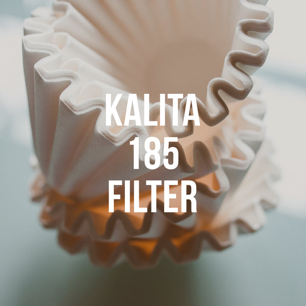 Kalita Wave 185 Paper Filter, 100 Pack - Irving Farm Coffee Roasters