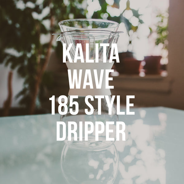 Kalita Wave 185 Dripper Style Set - Irving Farm Coffee Roasters