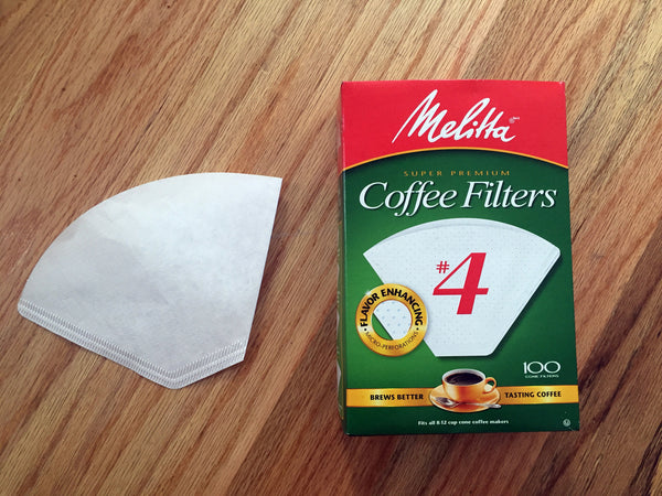 Melitta <br>  #4 Oxidized Filters, 100 Pack