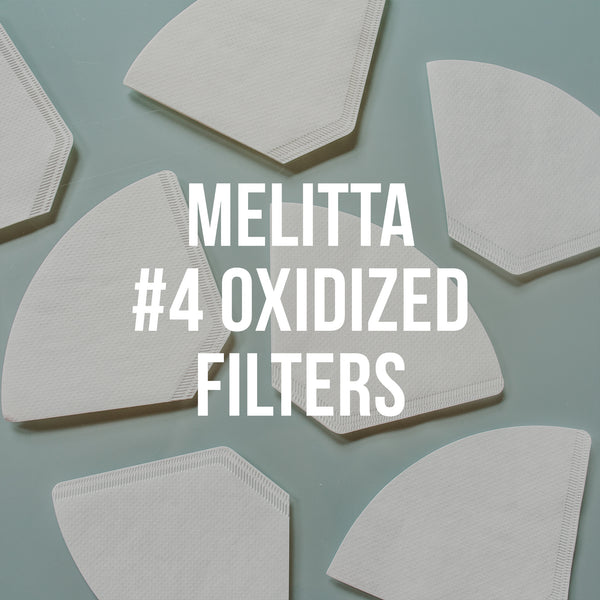 Melitta <br>  #4 Oxidized Filters, 100 Pack - Irving Farm Coffee Roasters