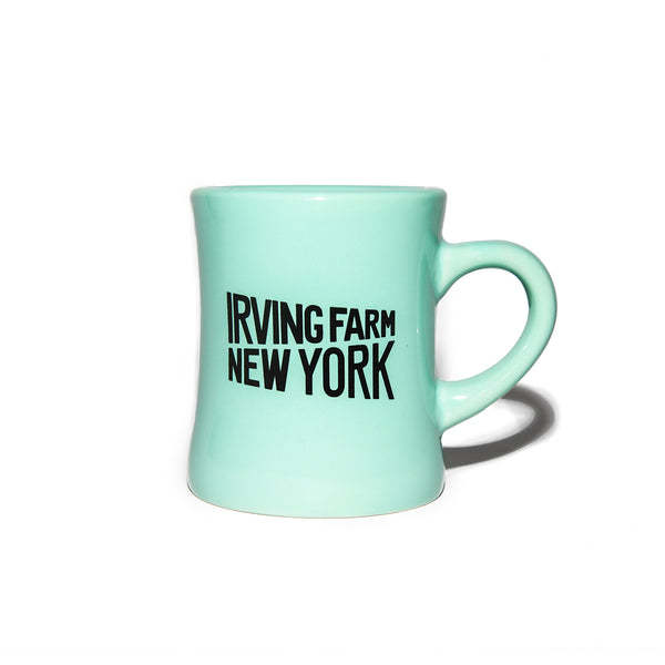 Mint Irving Farm Diner Mug - Irving Farm Coffee Roasters