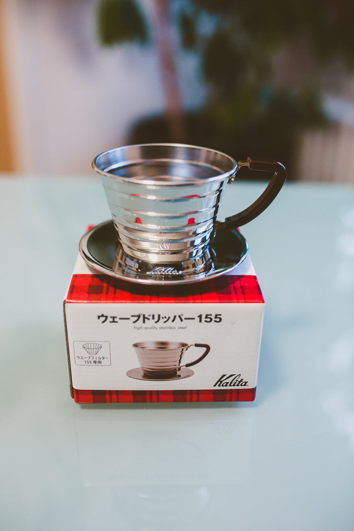 Kalita Wave 155 Stainless Dripper