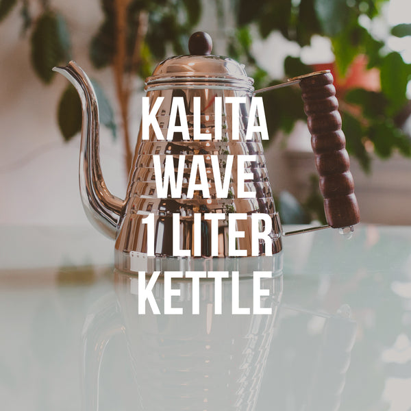 Kalita Wave Pot 1 L Water Kettle - Irving Farm Coffee Roasters