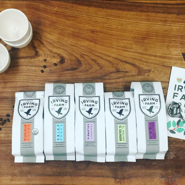 Sourcing | Irving Farm Coffee Roasters