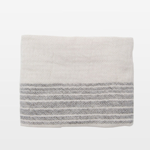 Herringbone Stripe Hand Towel
