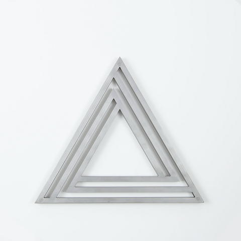 Silver Triangle Trivet
