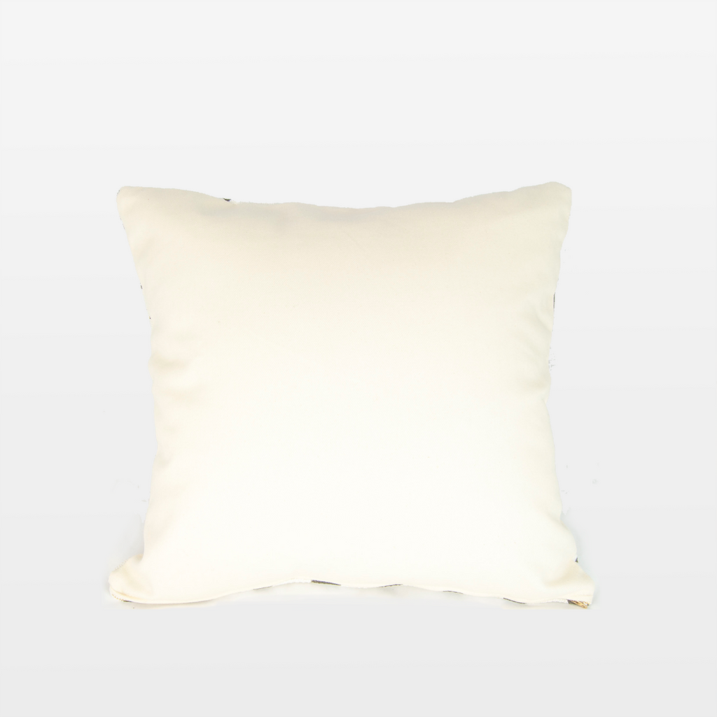 Blanca 05 Mudcloth Square Pillow