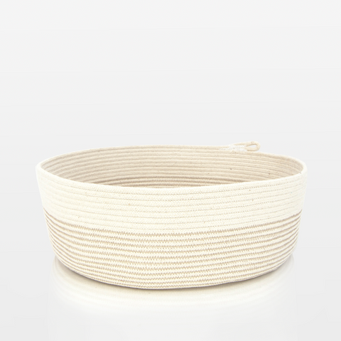 Milk & Honey Low Rope Basket