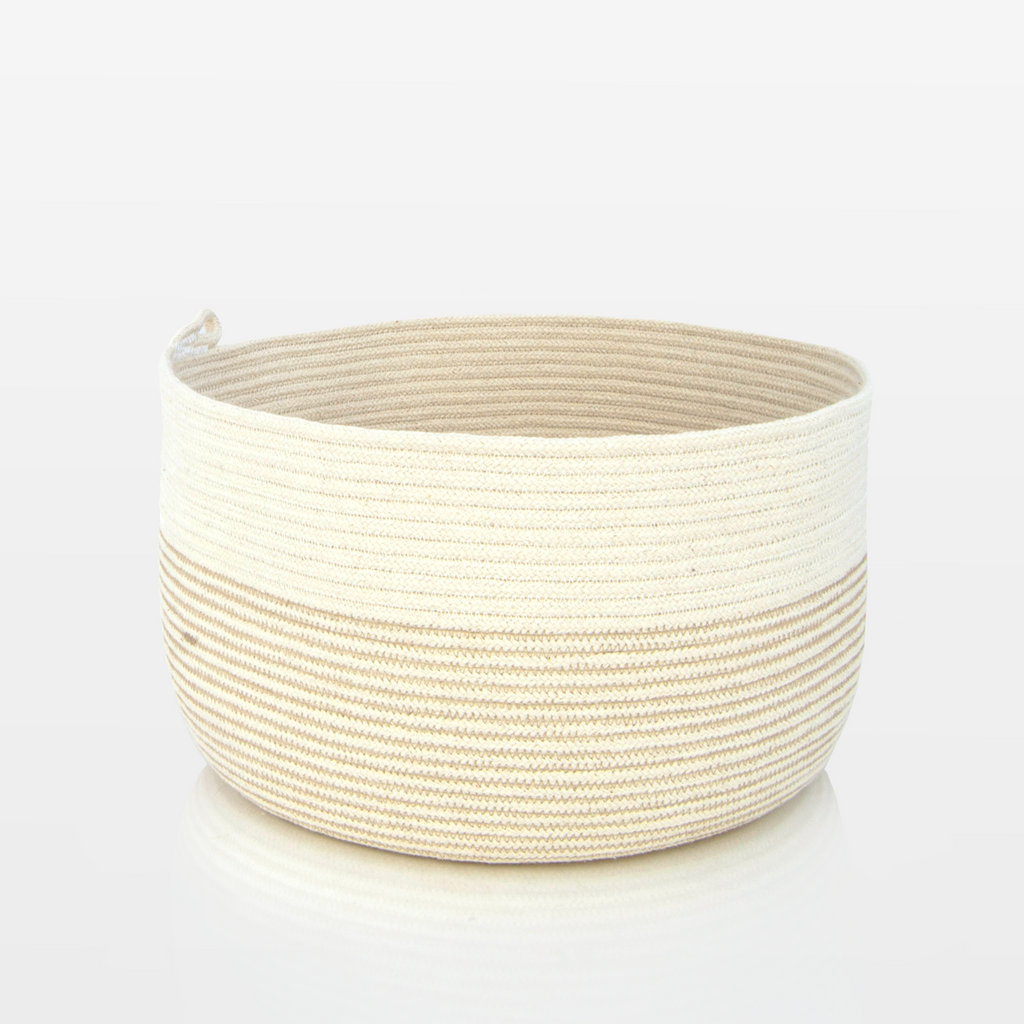 Milk & Honey Rope Pot