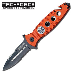 "Tac-Force 4.5"" TF-569EMS Folding Rescue Knife"