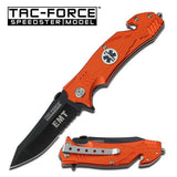 Tac Force TF-515OE Spring Assisted Rescue Knife