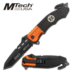 MTech USA Manual MT-740EM Folding Rescue Knife