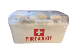 Government Regulation 3 First Aid Kit in White Case