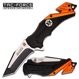 "Tac-Force TF-640EMT 4.5"" Folding Rescue Knife"