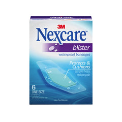 Nexcare Waterproof Blister Plasters (6/Box)