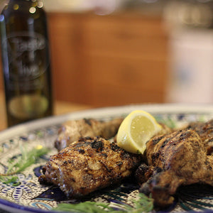 Kate's Kitchen: Garlic Olive Oil Grilled Chicken Wings