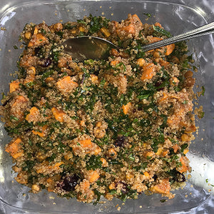 Maple Kale Quinoa Salad