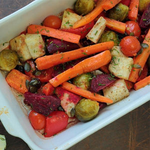 A Prescription for Delicious Eating: Roasted Vegetables