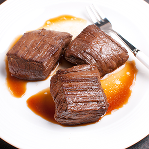 Bourbon Honey Steak Tips