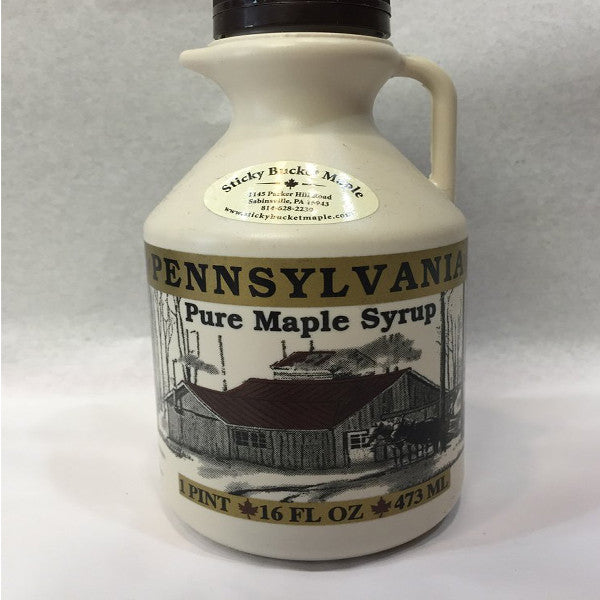 8 oz Maple Syrup Jug - A Taste of Olive