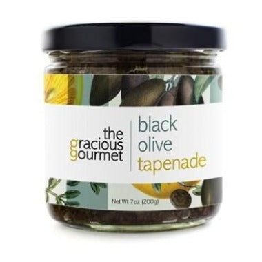 Black Olive Tapenade - A Taste of Olive