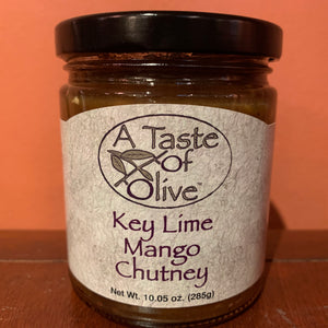 Key Lime Mango Chutney - A Taste of Olive