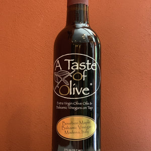 Bourbon Maple Balsamic Vinegar - A Taste of Olive